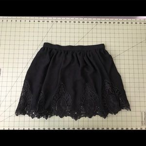 Black open work TOBI skirt! Never worn!